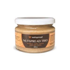 Nutspread 100% Trio ze tří druhů ořechů 250g - SLEVA - KRÁTKÁ EXPIRACE - 28.2.2021