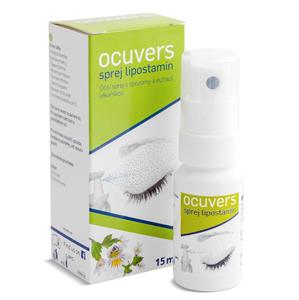 Ocuvers Spray lipostamin oční sprej 15 ml