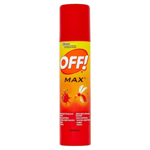 Off OFF! Max repelent ve spreji 100 ml