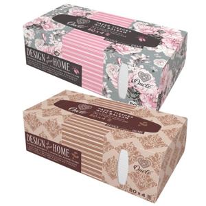 Onclé Papírové kapesníky s balzámem 4-vrstvé box, 80 ks