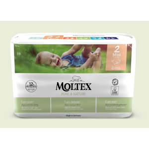 Ontex Group Plenky Moltex Pure & Nature Mini 3-6 kg (38 ks)