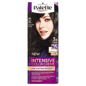 Palette Schwarzkopf  Intensive Color Creme barva na vlasy Černý N1 (1-0)
