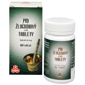 PM Žlučníkový elixír 60 tablet