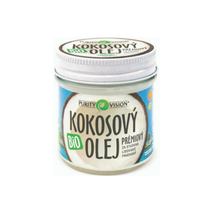 PURITY VISION FAIR TRADE KOKOSOVÝ OLEJ PANENSKÝ BIO 120 ML