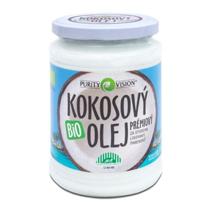 PURITY VISION FAIR TRADE KOKOSOVÝ OLEJ PANENSKÝ BIO 600 ML