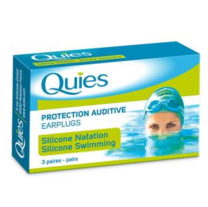 QUIES QUIES chránice pro plavání dospělí (3 páry)