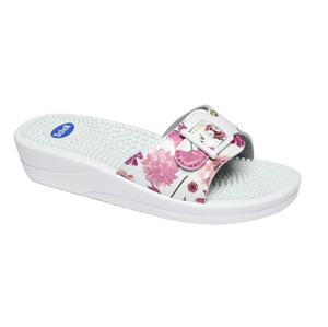 Scholl New massage - White/Fuchsia 40