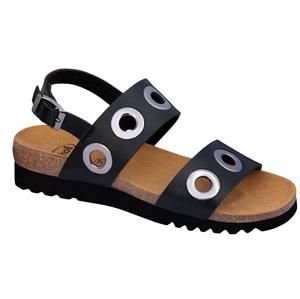 Scholl Zdravotní obuv - LARA SANDAL - Black 42