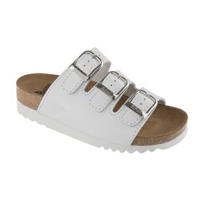 Scholl Zdravotní obuv RIO WEDGE AD Lea-W - bílá 41