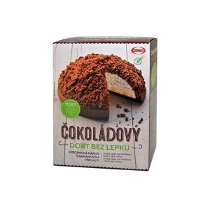 Semix Čokoládový dort bez lepku+ náplň 430 g - SLEVA - KRÁTKÁ EXPIRACE 30.9.2020 + ROZTRŽENÁ KRABIČKA