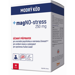 Simply You magNO-stress 250 mg MODRÝ KÓD 60 tablet