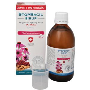 Simply You StopBacil sirup Dr. Weiss 200 ml + 100 ml ZDARMA - SLEVA - POMAČKANÝ OBAL
