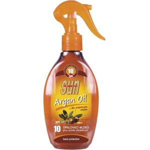 SUN Opalovací mléko s arganovým olejem OF 10 rozprašovací 200 ml