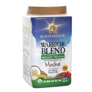 Sunwarrior Protein Blend BIO moka 750 g