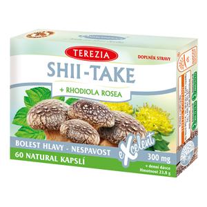 Terezia Company Shii-Take + Rhodiola rosea 60 kapslí