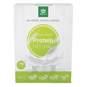 Topnatur Protein hrachovo-rýžový 180 g - SLEVA - poškozená krabička