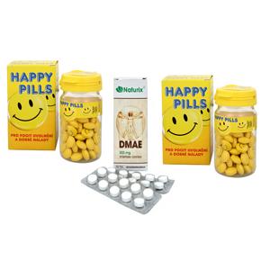 Vetrisol Happy Pills 2 x 75 tbl. + DMAE 50 tbl.