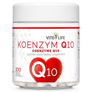 Vito life Koenzym Q10, 100 tobolek