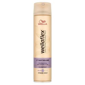Wella Wellaflex 2ND Day Volume pro silné zpevnění lak na vlasy 250 ml