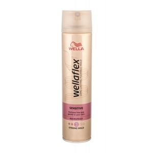 Wella Wellaflex Sensitive silné zpevnění lak na vlasy pro citlivou pokožku 250 ml