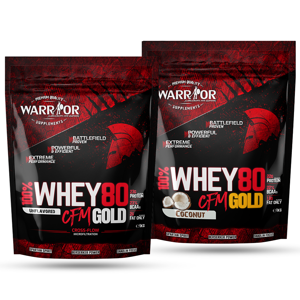 Whey WPC80 CFM Gold 1kg Strawberry Sweet 1kg Strawberry Sweet