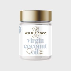Wild & Coco Raw KOKOSOVÝ OLEJ PANENSKÝ 300 ml