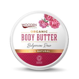 WoodenSpoon Tělové máslo Bulharská růže WoodenSpoon 100 ml