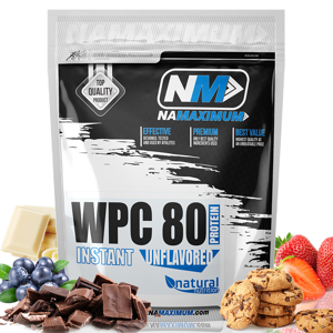 WPC 80 - syrovátkový whey protein Chocolate DeLuxe 1kg Chocolate DeLuxe 1kg