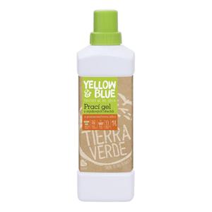 Yellow & Blue Prací gel z mýdlových ořechů s pomerančovou silicí - SLEVA - poškozený obal 5 l