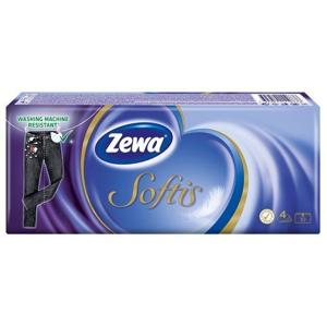 Zewa Softis - papírové kapesníčky 4 vrstvé 10x9ks